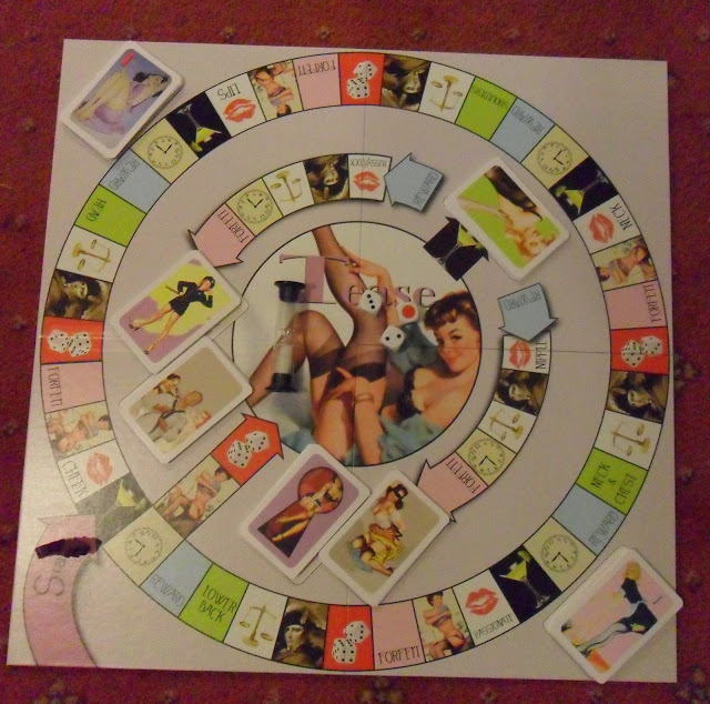 Three Wishes Erotic Adult Couples Board Game